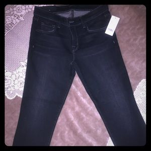 J Brand cropped low rise 28
